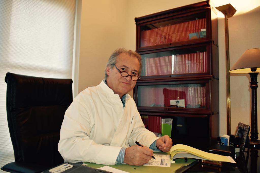 Dokter Stephan Vlaminck Close up